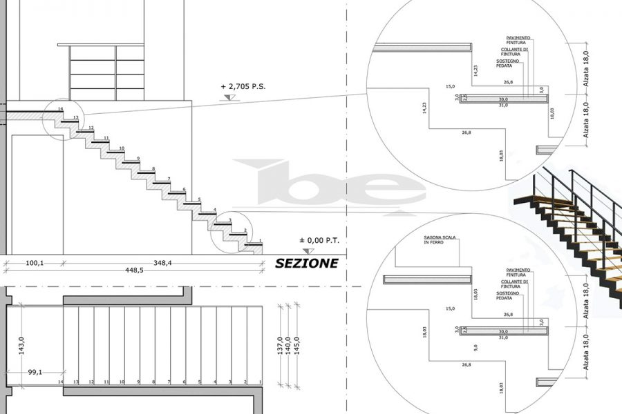 Scala in ferro Design